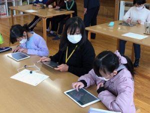 プログラミング体験会 in吉田児童館