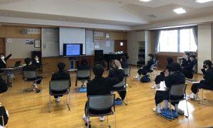 聖南中学校ネットセキュリティ講演会